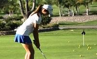 Golf clinic impression