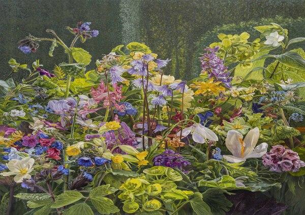 Bloemen uit De Kleine Plantage door Dina Belga