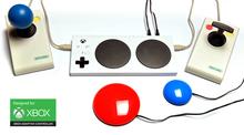 Xbox Adaptive Controller met Optima joystick