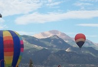 The Labor Day Lift Off is one of the favorite Pikes Peak annual events