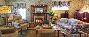 Holden House features lovely antiques and warm hospitality