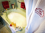 Soaking tubs and relaxation abound at Holden House