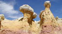Paint Mines Park is just one of the fantastic open spaces to explore in Colorado Springs and the Pikes Peak Region