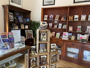 The Old Colorado City History Center features an extensive bookstore gift shop and local displays