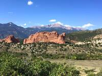 Garden of the Gods is one of the many outdoor areas to experience