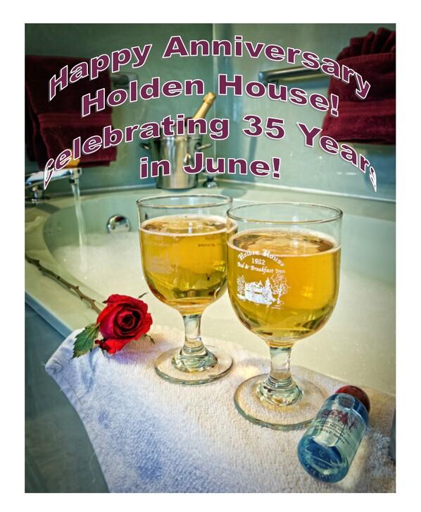 Happy Anniversary Holden House!
