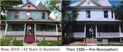Then and Now Holden House Anniversary