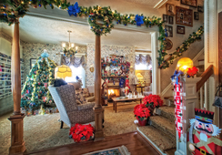Holidays are special at Holden House and especially at Christmastime!