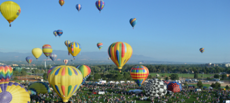 Annual Labor Day Lift Off in Colorado Springs