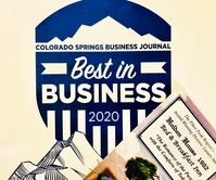 Holden House Voted Best in Business 2020 Colorado Springs Business Journal