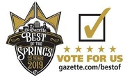 Best of the Springs Vote for Holden House