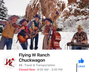 Flying W Ranch Christmas at the Ranch
