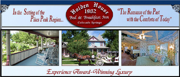 Holden House 1902 Bed & Breakfast Inn, Colorado Springs, CO www.HoldenHouse.com