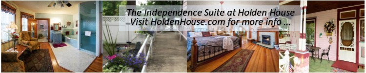 The Independence suite provides ADA access and beautiful surroundings