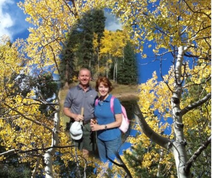Innkeepers Sallie and Welling Clark welcome you to Colorado in the Fall Season!