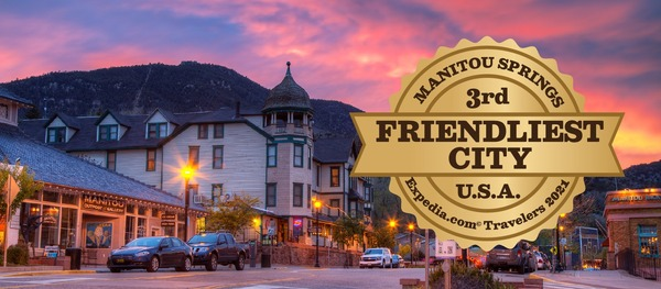 Manitou Springs is one of the many shopping districts in the Pikes Peak Area