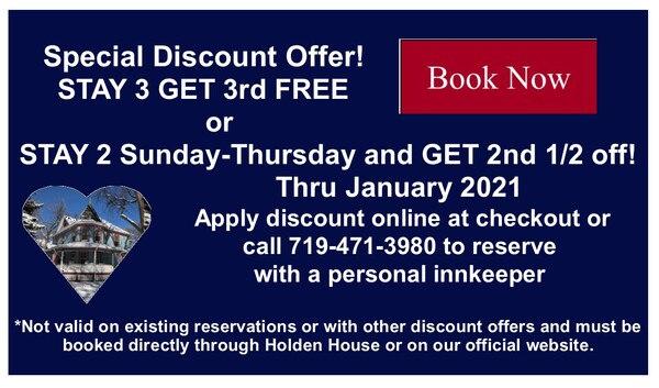 Special New Year 2021 January Discount!