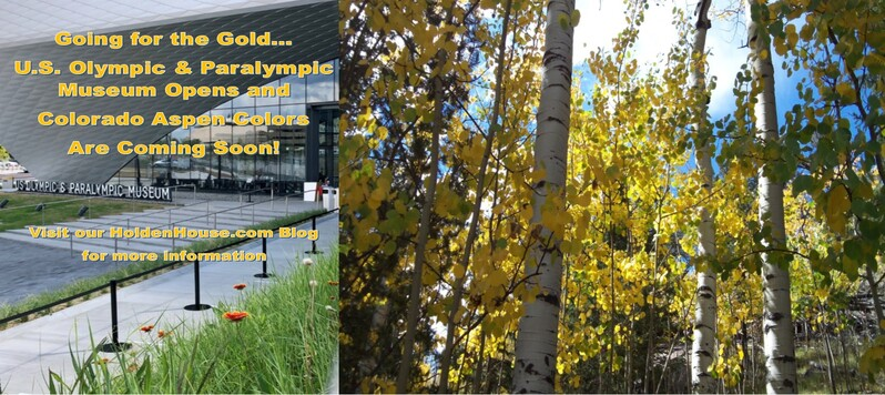 Going for the Gold with new US Olympic Museum & Aspen Colors at Holden House