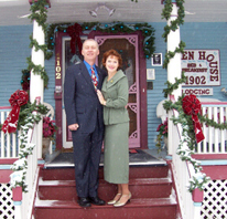 Holden House adorned with holiday splendor is the perfect time to visit!