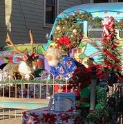 Santa Joe is a next door neighbor to Holden House