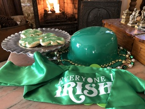 Celebrate St Patrick's Day at Holden House
