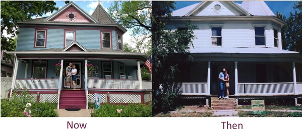 Then and now - Holden House celebrates its 35th anniversary!