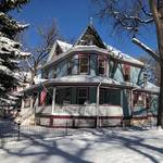 Winter descends on Holden House B&B in Colorado Springs
