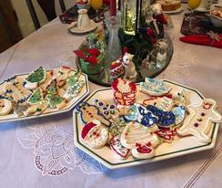 Christmas cookies are the perfect addition to our 24 hour coffee and tea service!