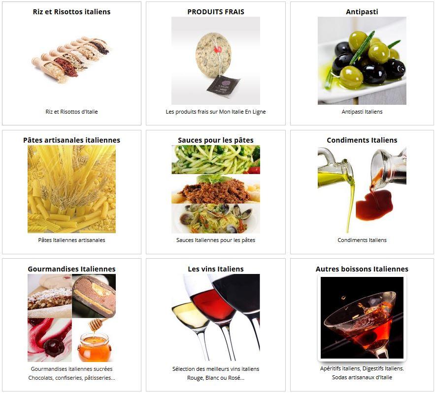 Catalogue Mon Italie En Ligne