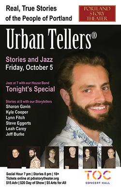 October 5 Urban Tellers
