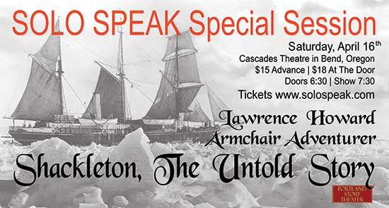 Shackleton, The Untold Story in Bend, Oregon