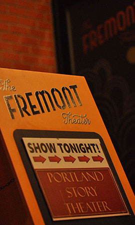 Fremont Theater home to Portland Story Theater