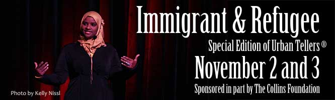 Immigrant and Refugee stories at Portland Story Theater