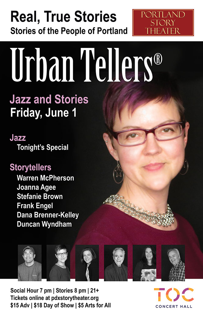 Portland Story Theater's Season Finale of Urban Tellers