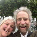 Lawrence Howard and Lynne Duddy at Farmhouse Performances