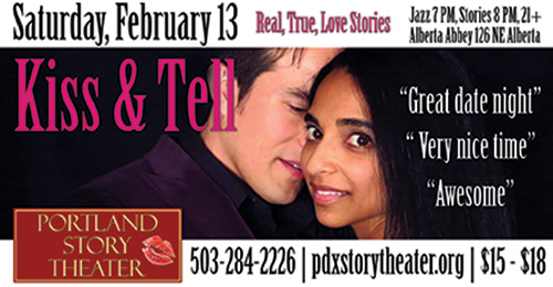 Kiss & Tell, Portland Story Theater's Valentine's show
