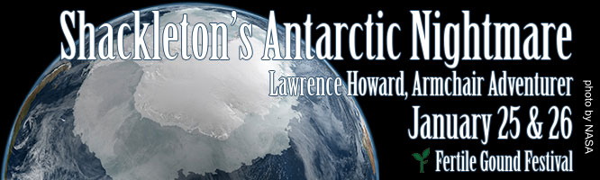 Portland Story Theater presents Lawrence Howard, the Armchair Adventurer