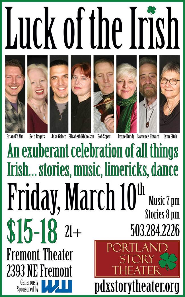 Buy tickets to Luck of the Irish, March 10, 2017