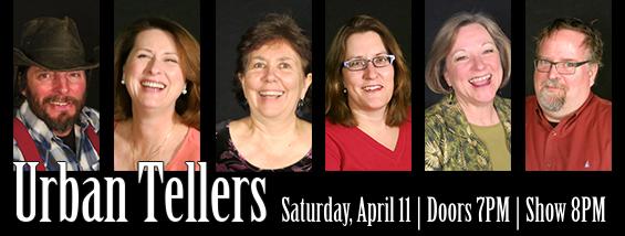 Urban Tellers April 11, 2015