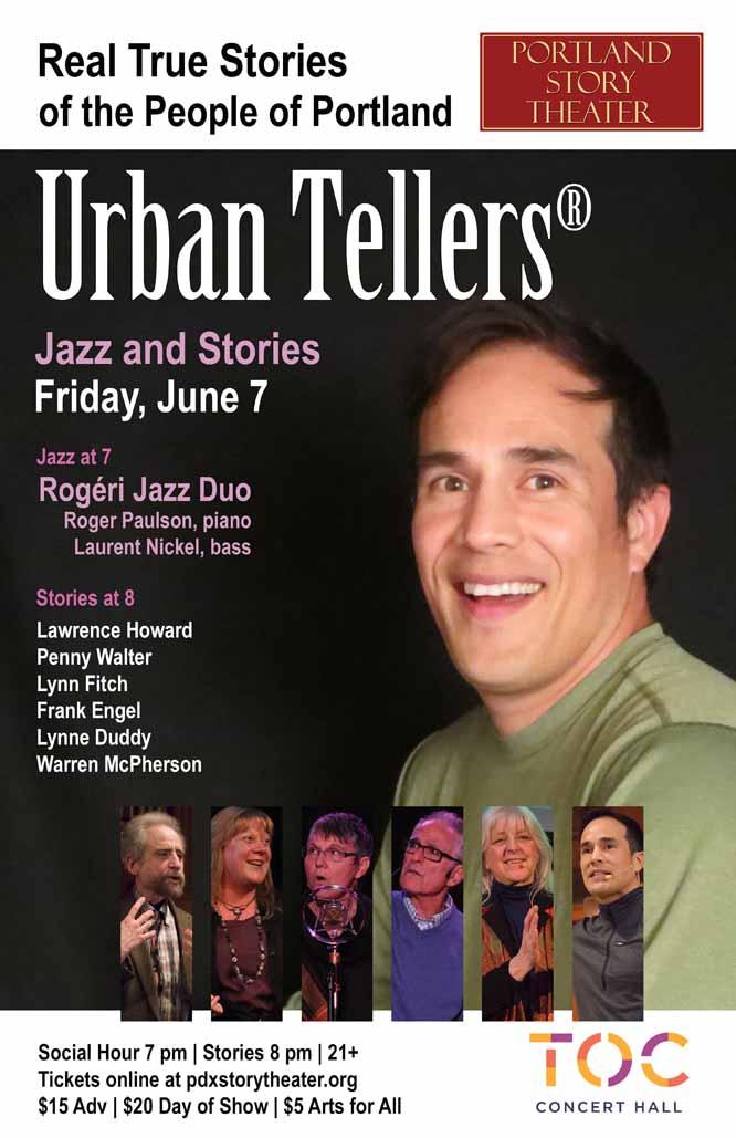 Portland Story Theater's Season Finale of Urban Tellers