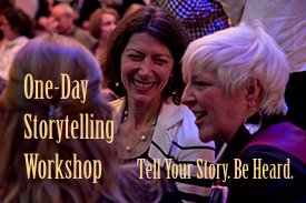 Sign-up for our One-Day Storytelling Bootcamp