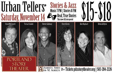 Urban Tellers, November 14, 2015