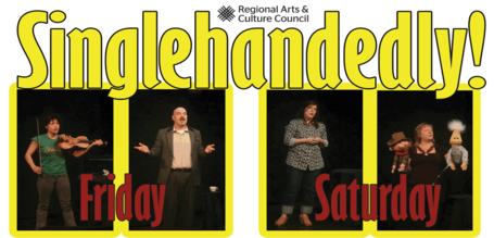 Singlehandedly! Portland Story Theater's 5th Anniversary Solo Festival