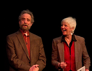Click here for tickets to see Lawrence Howard and Lynne Duddy in 33 and 1/3