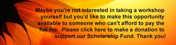 Donate to our scholarship fund. Thank you!