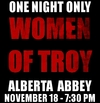 A Live Reading of the Women of Troy at the Alberta Abbey
