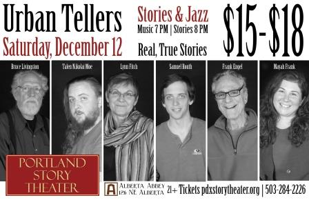Portland Story Theater's Urban Tellers