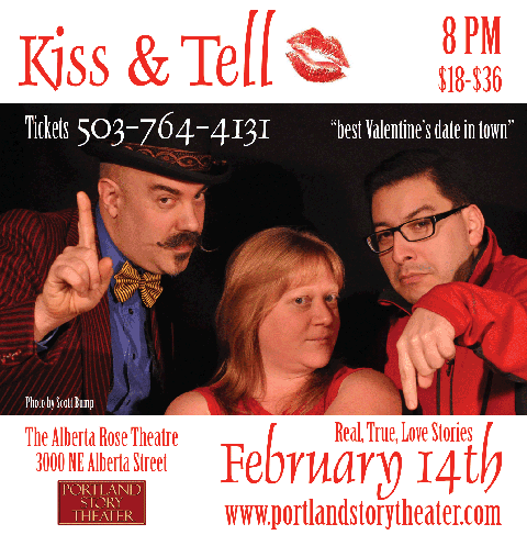 Click for tickets to Kiss & Tell at The Alberta Rose Theatre