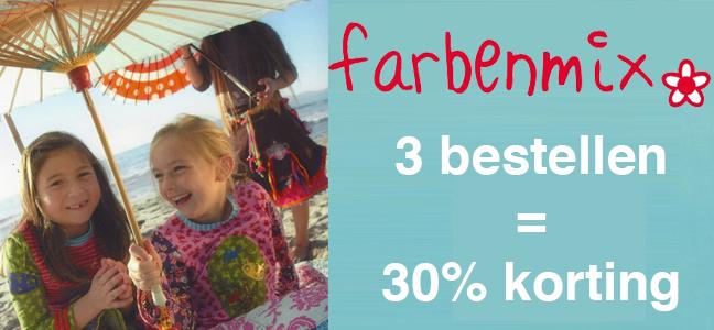 Farbenmix 32 Actie Kwiksew 50 Korting Burda Kids Zomer 2017