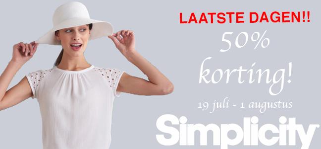 50 Kortingsactie Op Butterick En Simplicity Fashion Style 5